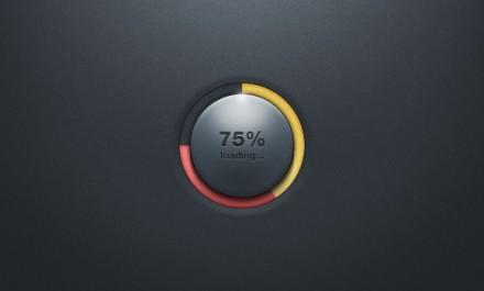Loading bar free PSD
