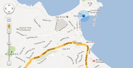 Google Maps UI controls free PSD