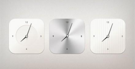 Modern Clock PSD