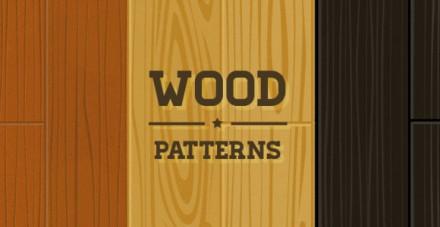 Wood patterns PSD