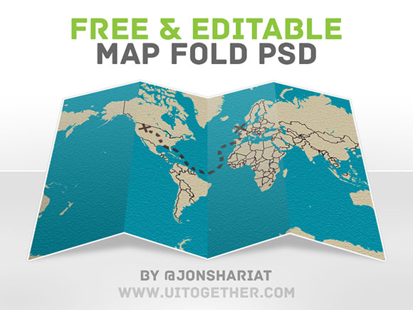 Laianderson design singapore web and graphic designer free psd free psd map fold gumiabroncs Choice Image