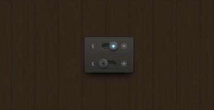 Night/day free PSD switch