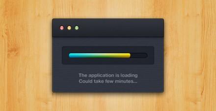 OSX Application Loading PSD