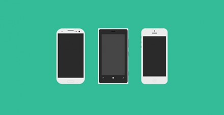 Mobile Phone Flagships PSD