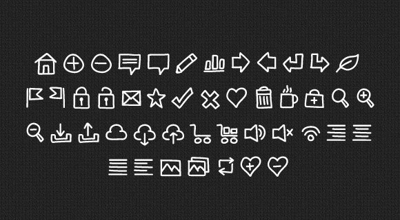 Handy icons Font Download