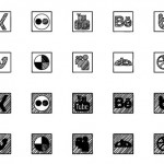 Sketched Social Icons Webfont