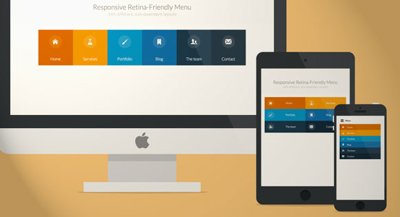 Responsive & Retina-ready menu Tutorial