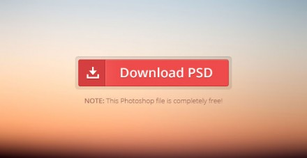 Download button PSD + CSS
