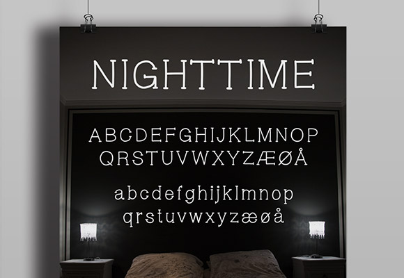 Nighttime Font Download