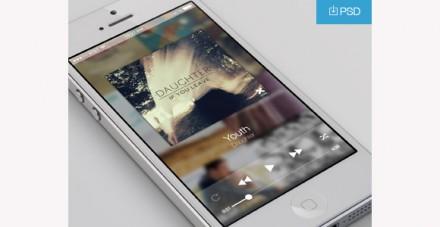 Clean music player app