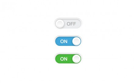 Simple toggle switch CSS