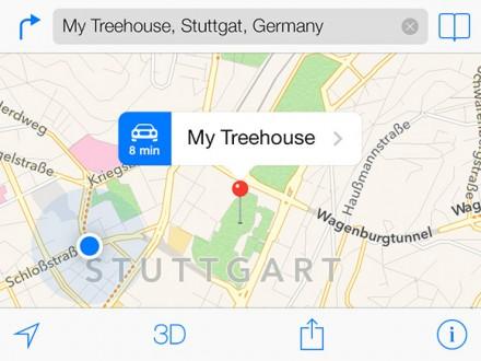 iOS7 Maps template
