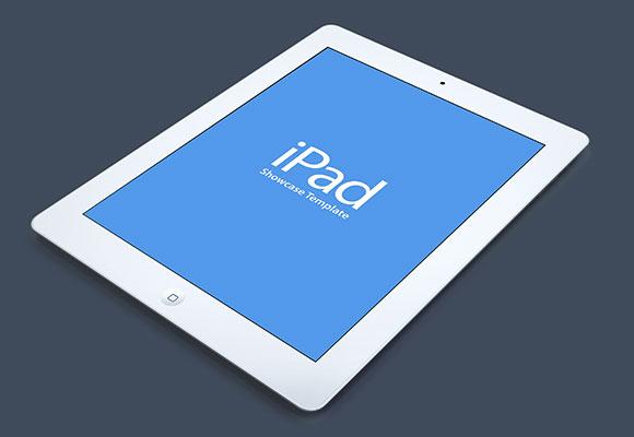 iPad showcase mockup