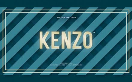 Kenzo free font