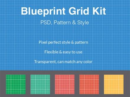 Blueprint grid kit