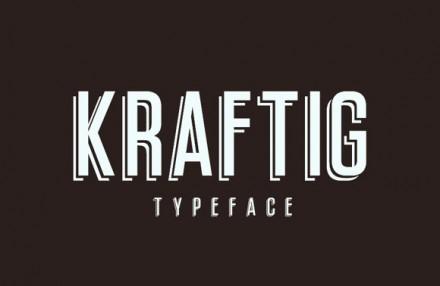 Kraftig free font