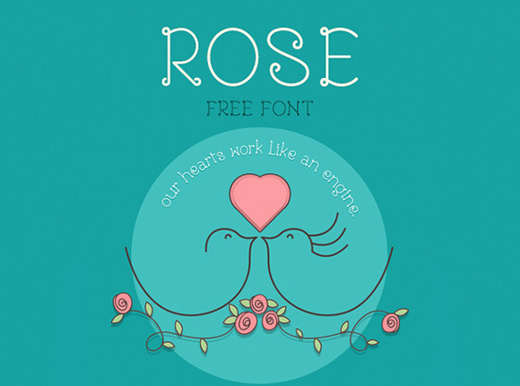 Rose Free Font Download