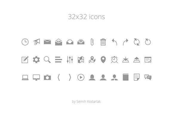 36 free tiny icons