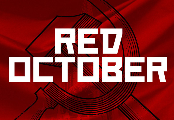 Red October Free Font Download