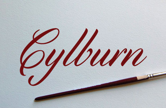 Cylburn Free Font Download