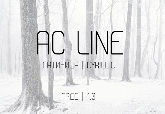 AC Line Free Font Download