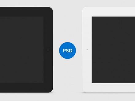 Free vector iPad mockups