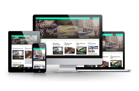 Fullby - Free WordPress theme