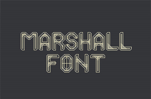 Marshall Free Font Download