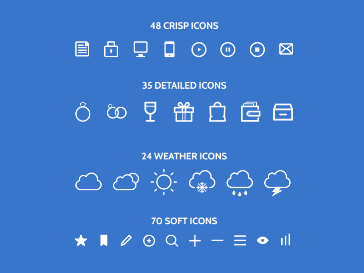177 free PSD icons by Robin Kylander