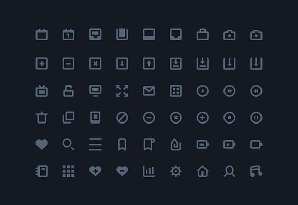 54 stylish icons ai freebiesbug for Freebiesbug