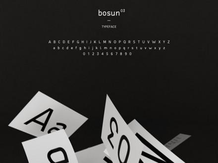 Bosun free font
