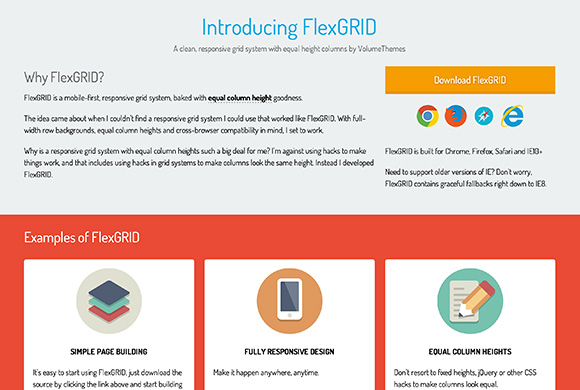 FlexGRID - A light responsive grid system