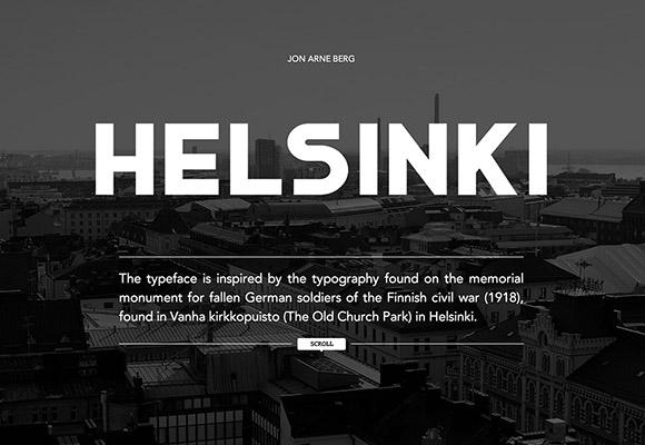 Helsinki Free Font Download