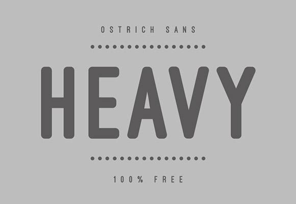 Ostrich Sans Free Font Download