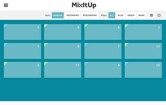 MixItUp 2 - Powerful jQuery sorting plugin