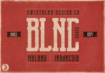 Blnk Round free font featured
