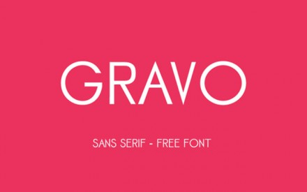 Gravo free font