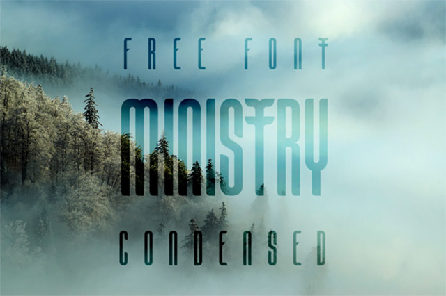 Ministry Free Font Download
