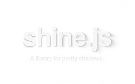 shine.js - Library for pretty shadows