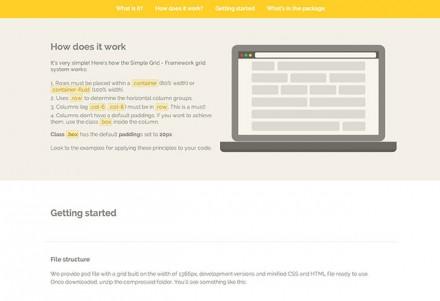 Simple Grid - CSS framework