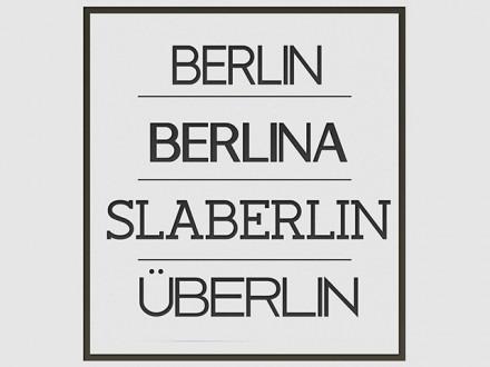 Berlin - Free typeface