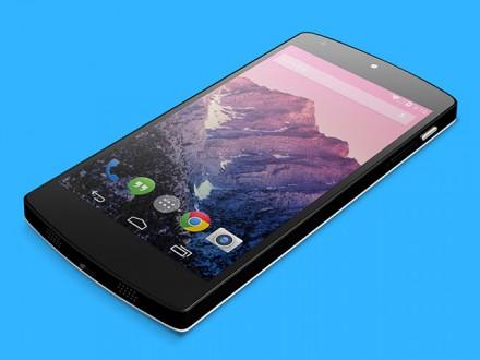 Nexus 5 free PSD mockup