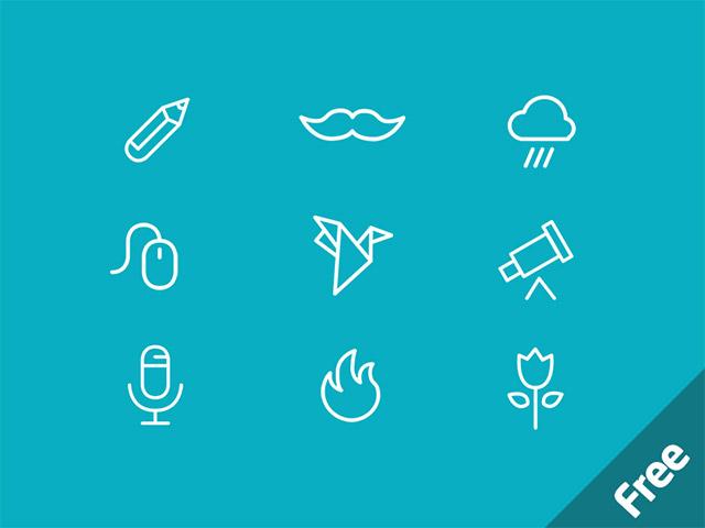 Minicons 40 free psd icons freebiesbug for Freebiesbug