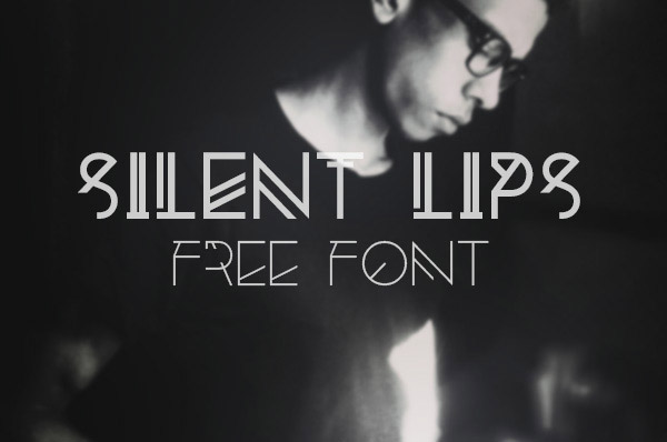 Silent Lips Free Font Download