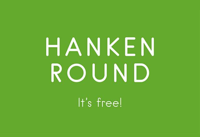 Hanken Rounded free font