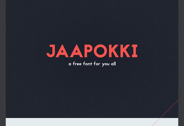 Jaapokki Free Font Download