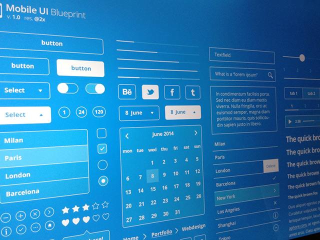Ipixel creative singapore web design web development company mobile ui blueprints psd malvernweather Images