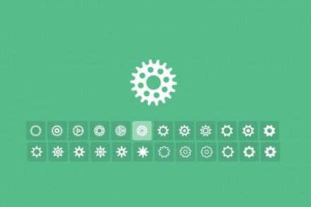 Tumblr-style cog loaders CSS