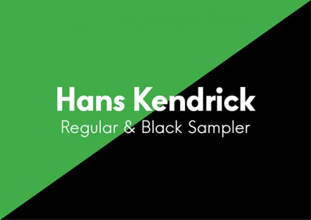 Hans Kendrick Regular & Bold - Free font