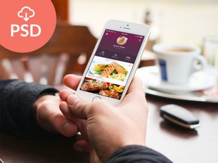 Recipes app design - PSD